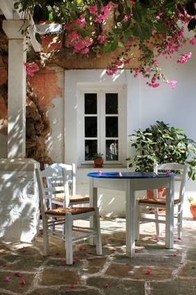 Lovely spot in Paros