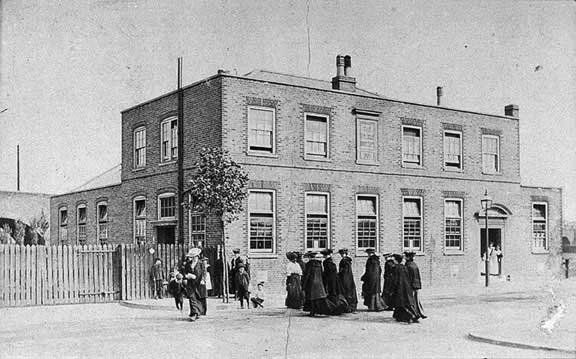 dockland settlement (4)   East Ferry Rd (South)   Isle of Dogs Heritage  History
