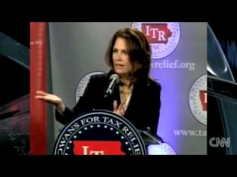 Michelle Bachman Re-writes History