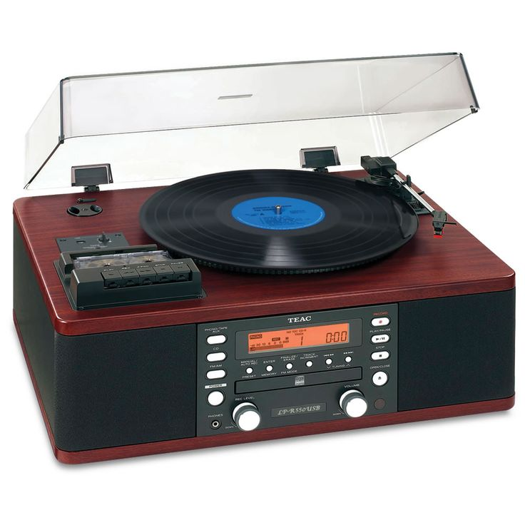 Available only from Hammacher Schlemmer, this is the combination recorder and stereo system that preserves classic vinyl records and cassette tapes by recording them to audio CDs or digital format. It faithfully transfers an LP or cassette to a digital audio CD-R or CD-R/RW