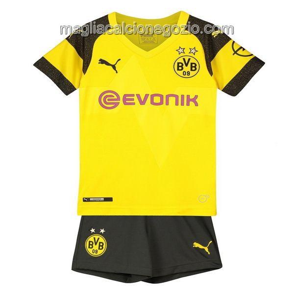 Home Completo Bambino Nuova Maglia Borussia Dortmund 2018-2019 ...