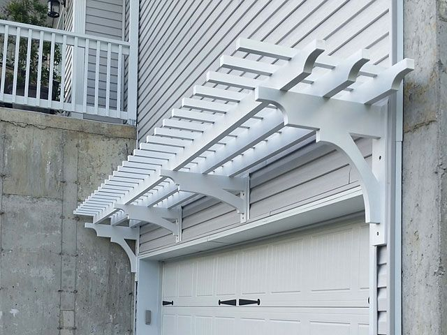 Beautiful Idea For An Arbor Pergola Garage Pergola