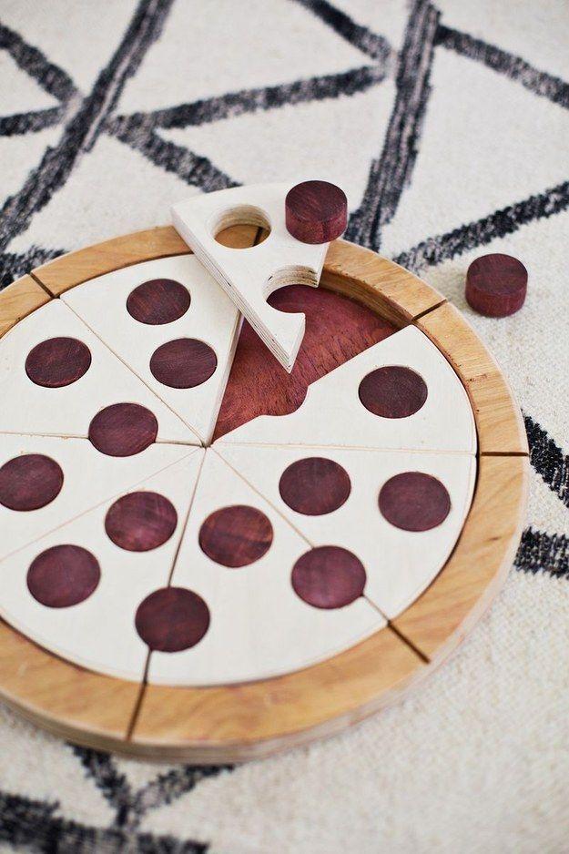 Pizza-Puzzle   41 selbstgebastelte Geschenke, die Du am Liebsten behalten willst