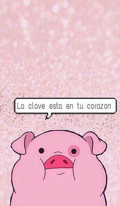 Imagen de pato, pig, and wallpaper