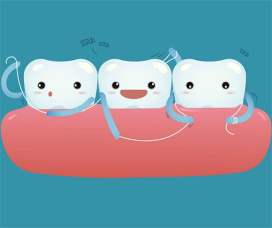 Dentaltown - Don't forget to floss! If you washed your hands and they started to bleed, you would be alarmed, right? Then how come the majority of people are not alarmed when they brush and floss their teeth and their gums bleed? Visit your dentist if your gums bleed when brushing or flossing, if you have red, swollen, or tender gums, if your gums have pulled away from teeth, or if you have bad breath.