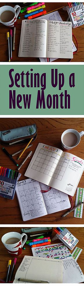 Setting up a new month is always so promising! I'm trying a few new things this May, really excited to start!