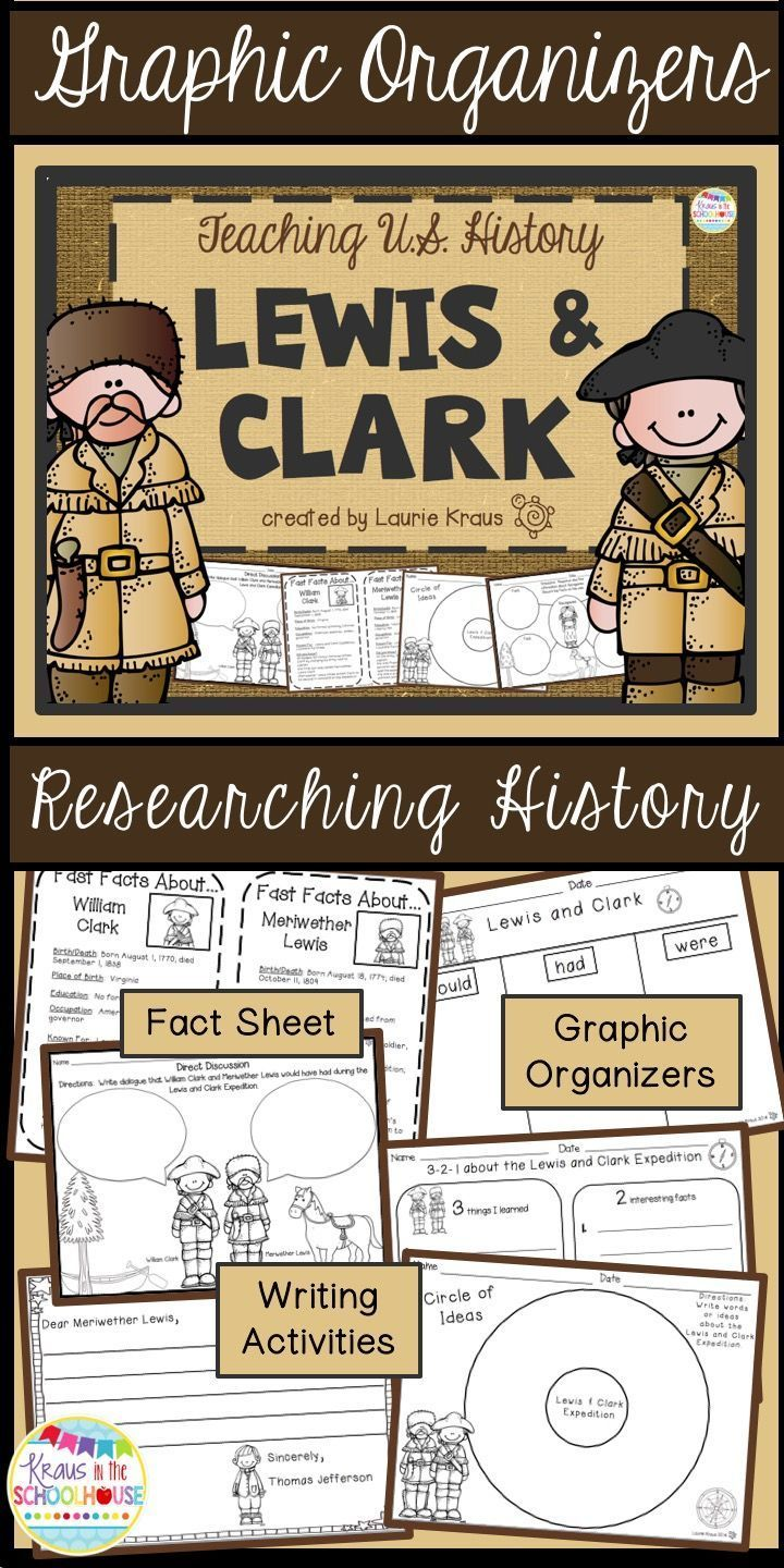best images about reading graphic organizers lewis and clark engaging activities to teach u s history