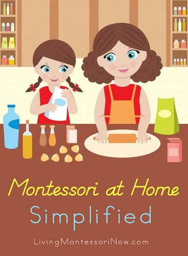 Simple ideas for using Montessori principles in any home.