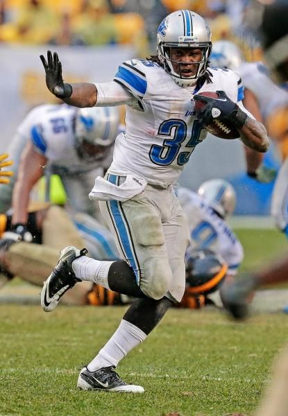 Detroit Lions running back Joique Bell