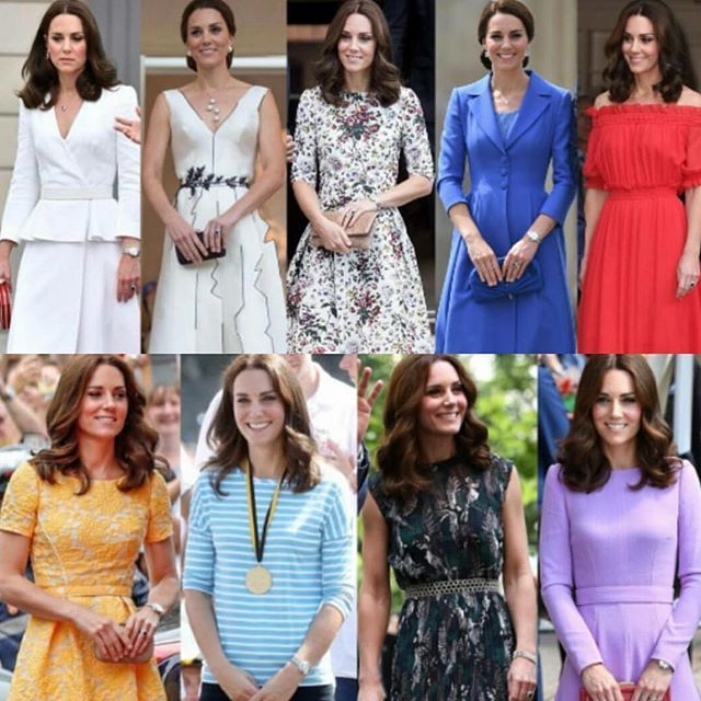 What Kate wore in Poland/Germany 2017. RoyalDish - News and photos of William and Kate V - page 514