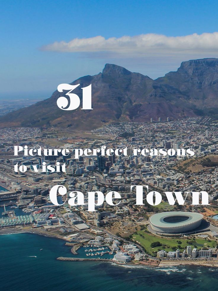 31 Picture Perfect Reasons to visit Cape Town