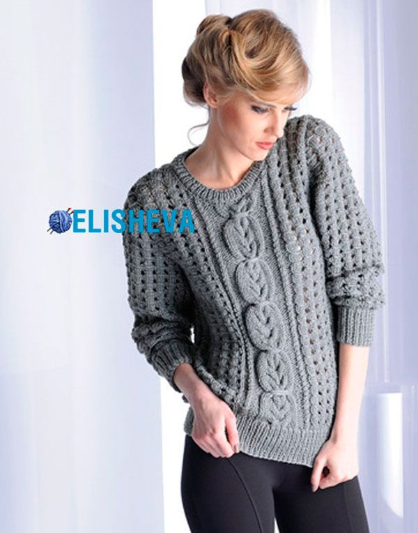 Вязание спицами кофт, болеро, жакетов, жилетов, пуловеров и свитеров | Блог elisheva.ru