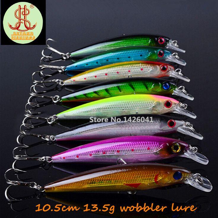 8pcs wobbler fishing lure fit yo zuri bait artificial for Fishing yo yo