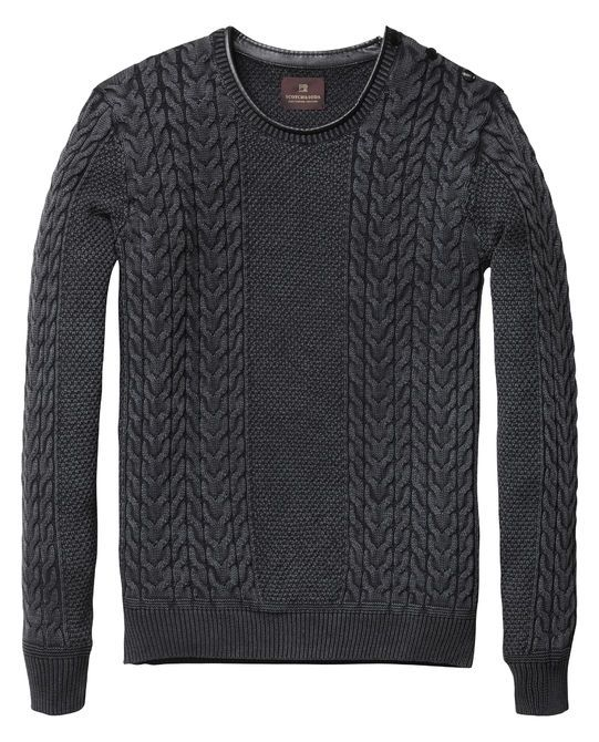 Powder Wash Pullover  - Scotch