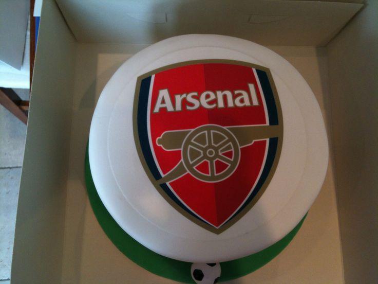 ... Arsenal Cakes on Pinterest  Arsenal fc, Birthday cakes and 21st cake
