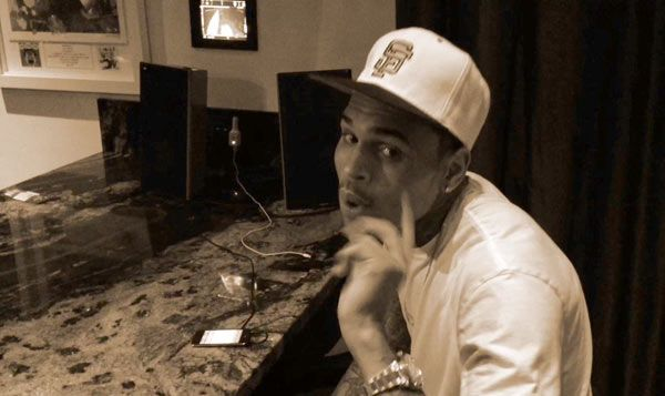 Chris Brown Teases Hot New Song In Video —Watch