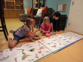 Montessori Monday~ Great Lesson 2~ The Coming of Life (with free printable Time Line of Life) from Discovery Days and Montessori Moments