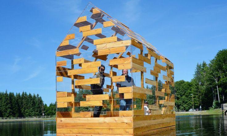 Walden Raft / Elise Morin & Florent Albinet – nowoczesna STODOŁA   wnętrza & DESIGN   projekty DOMÓW   dom STODOŁA