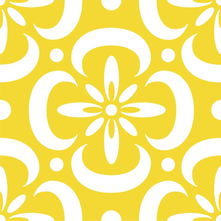 Floor stencil template Maybe not this bright but love the stencil