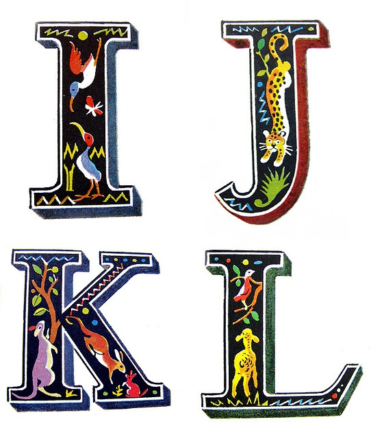 creative alphabet letters - 542×640