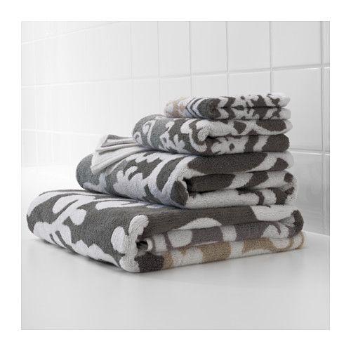 BLÄDJAN Bath towel, multicolor