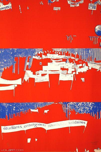 Gérard Fromanger, keywords: Gerard Fromanger, French, Pop Art, nouvelle figuration, Paris