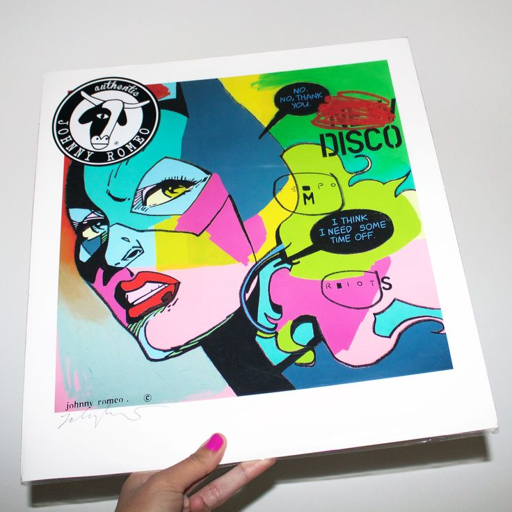 Looking fresh! Have you gotten your exclusive high quality print by Johnny Romeo yet? △ #wemadeitshop