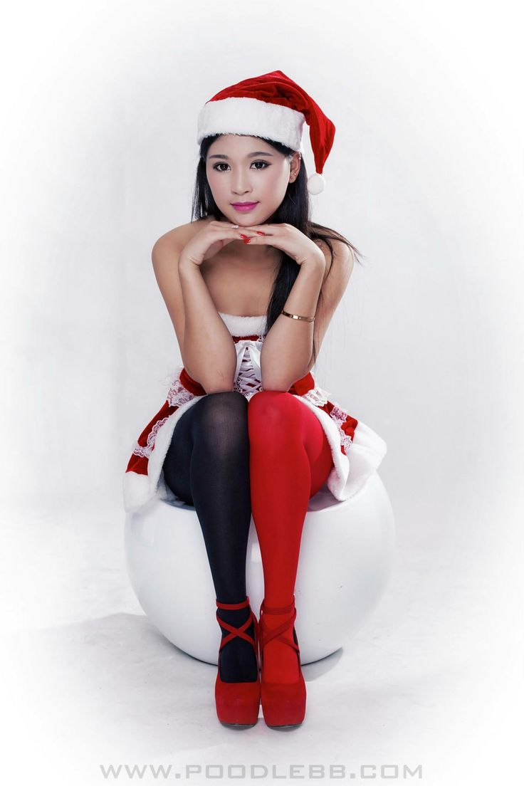 Sexy asian mrs claus