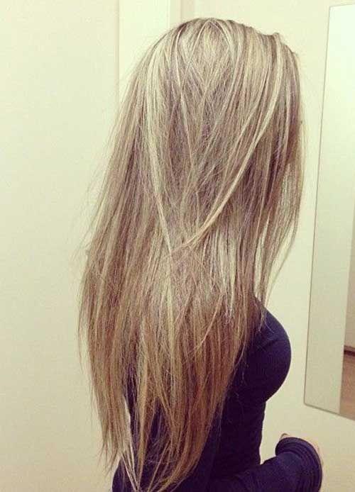 Layered Straight Long Hair