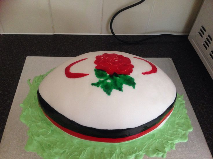 Rugby ball cake :-)