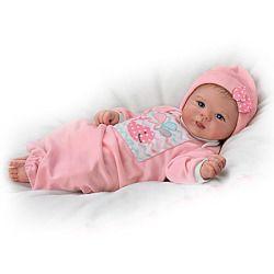 Little Squirt Lifelike Newborn Baby Doll - Realistic Baby Dolls