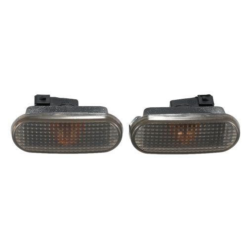Pair of Side Marker Light Car Side Turn Signal Lights for VW Passat B4 1992-1998