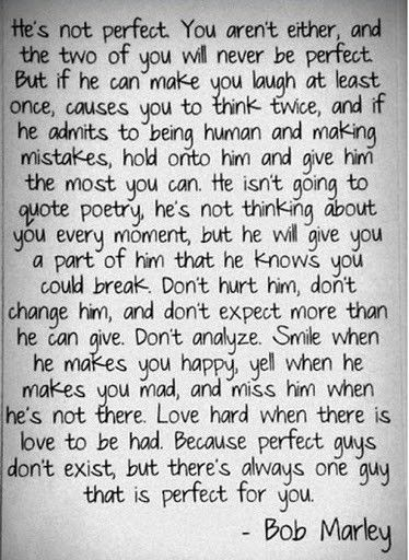 Bob Marley Quote/love
