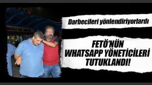 İstanbul'daki whatsapp grubunu yöneten 2 darbeci albay tutuklandı: Fethullahçı Terör Örgütü'nün (FETÖ / PDY) darbe girişimine ilişkin yürütülen soruşturma kapsamında Konya'da yakalandıktan sonra İstanbul'a gönderilen kurmay albaylar Nebi Gazneli ve Müslüm Kaya 'Cebir...