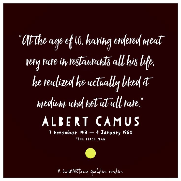 No stranger to words, his life began on 7th November, 1913. #AlbertCamus  #author #foodie #Movies #Art #Food #Chef #DJ #Creativity #HipHop #SouthAfrican #FoodPorn #Design #Creative #Ad #GraphicDesign #Advertising #Brand #Marketing #London #NewYork #Melbourne  #Instachef #SouthAfrica #AgencyLife #Music #Blogger #Books #Nanowrimo
