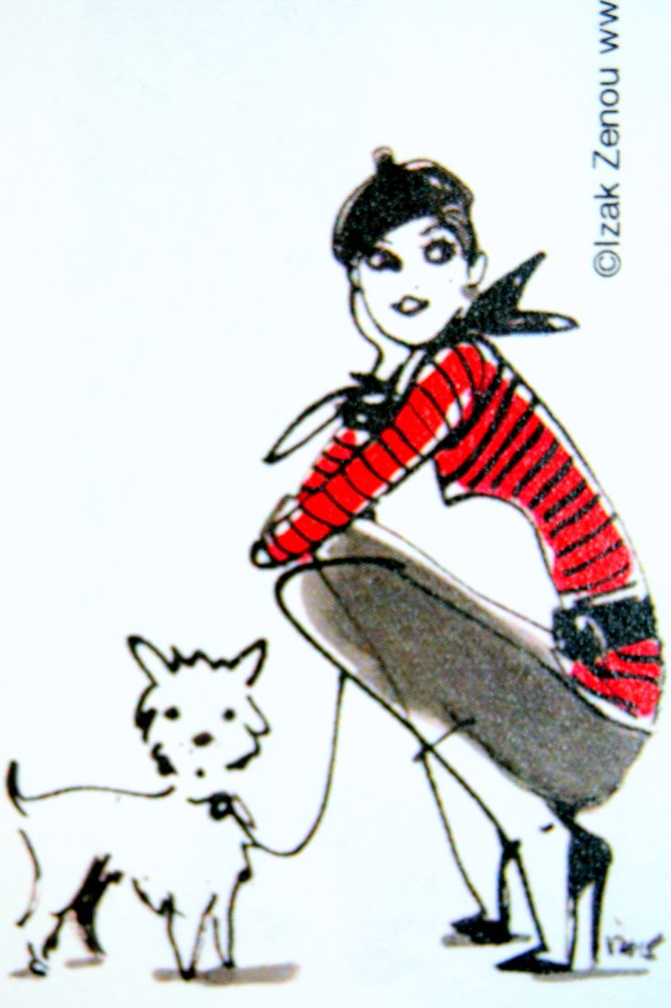 Note Pad Graphic Closeup-Parisian style
