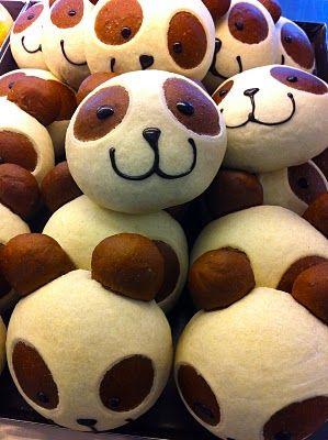 a hungry girl's guide to taipei: Panda Bread #food