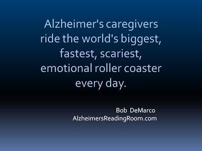 Alzheimer's Caregiver Quote #alzheimers #tgen #mindcrowd www.mindcrowd.org