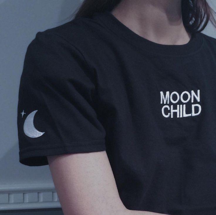 Moon Child tee by kokopie
