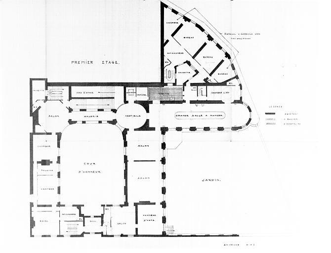 premier etage lambert pinterest plans architecturaux