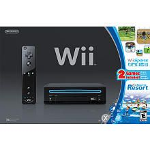 """Nintendo Wii Gaming System in Black Bundle with Wii Sports and Wii Sports Resort - Nintendo - Toys """"R"""" Us"""