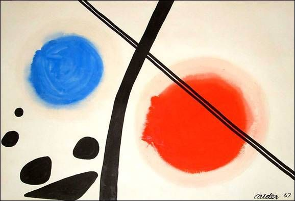 Alexander Calder's Paintings Get Updated In This 3D Animation | The Creators Project