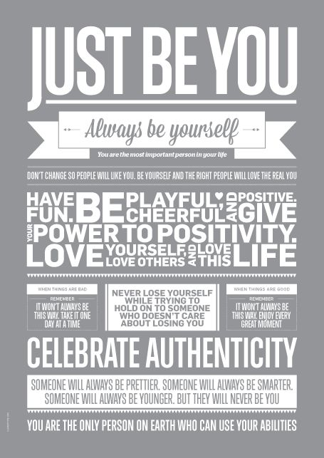 Just Be You, Grey