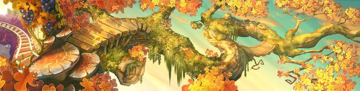 ArtStation - Autumn Tale, Samuel PIRLOT - PETROFF