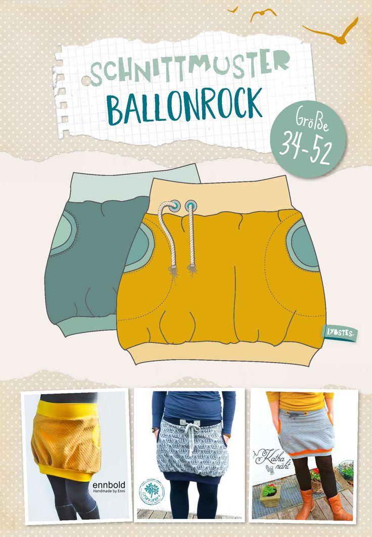 25 einzigartige schnittmuster ballonrock ideen auf pinterest ballonrock n hen wickelrock. Black Bedroom Furniture Sets. Home Design Ideas