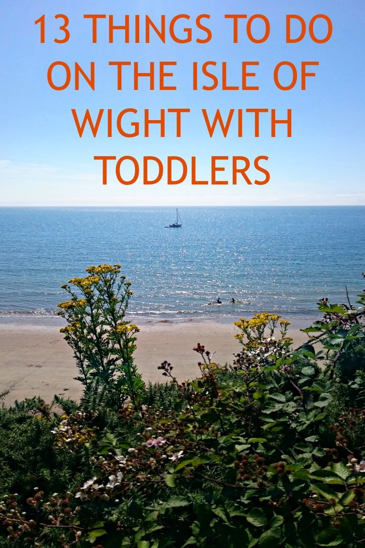 13 Things To Do On The Isle Of Wight With Toddlers #isleofwight #toddlerfriendly #familytravel