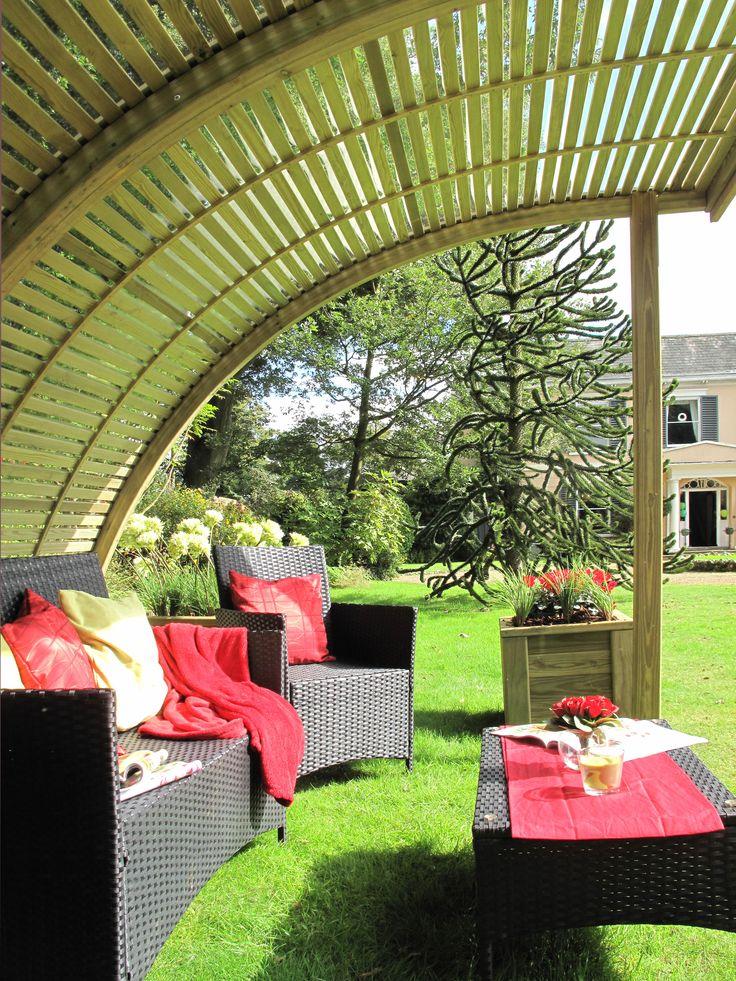 Jacksons Timber Demi Curve, Beautiful Garden Shelter.