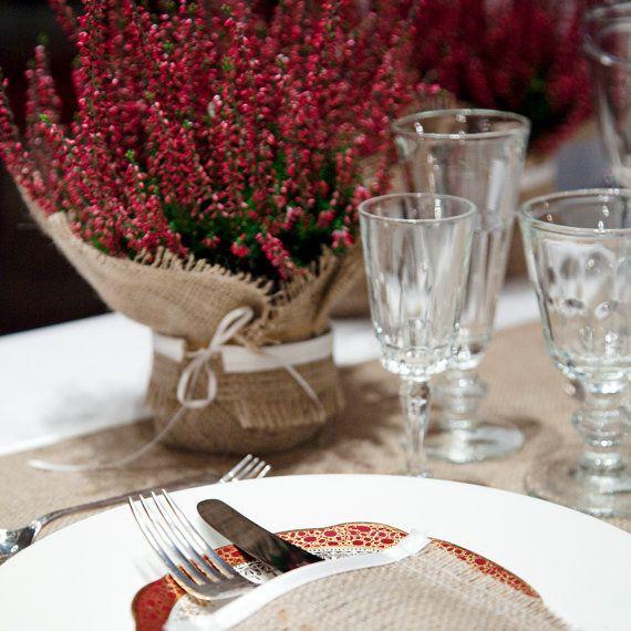 Decorazione di nozze rustico impacco pianta di BaloolahBunting