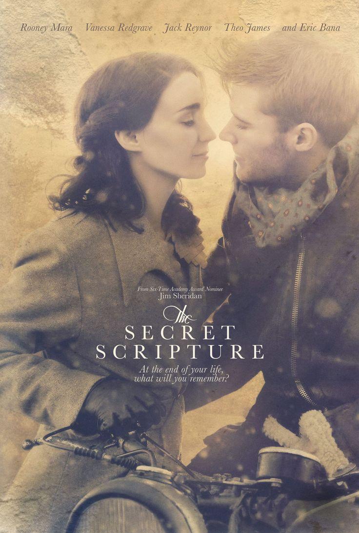 The Secret Scripture - new film poster -> https://teaser-trailer.com/movie/the-secret-scripture/  #TheSecretScripture #TheSecretScriptureMovie #MoviePoster