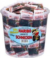 Haribo Lakritz-Schnecken, Rotella Minibeutel 100 Stück